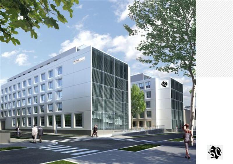 Immeuble de Bureaux - L'Espace 50 est situé au bord du futur aménagement des Rives de Saône et au coeur du quartier de l'industrie du 9ème - Photo 1
