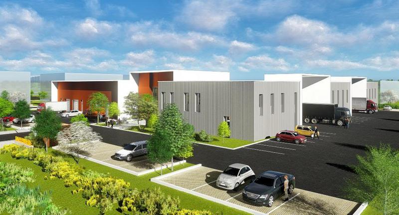 Immeuble de Bureaux - CAP & CO - ZAC des Prés Seigneurs - Rue des Valets - 01120 Montluel - Immeuble le Quadrant - Photo 1