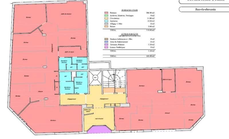 location vente bureaux boulogne billancourt 92100 145m2. Black Bedroom Furniture Sets. Home Design Ideas