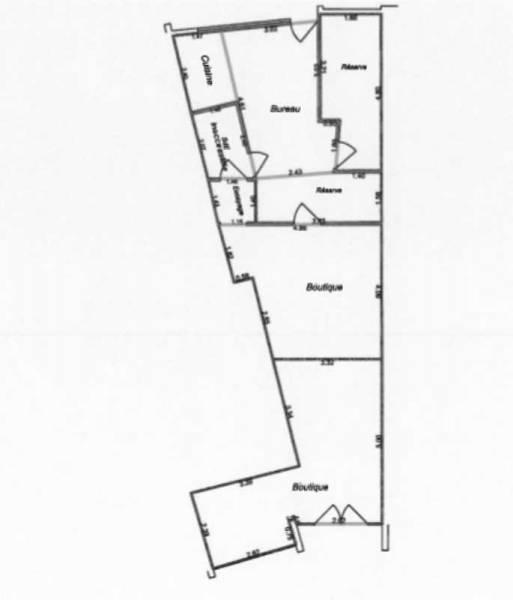 location locaux commerciaux viry chatillon 91170 72m2. Black Bedroom Furniture Sets. Home Design Ideas