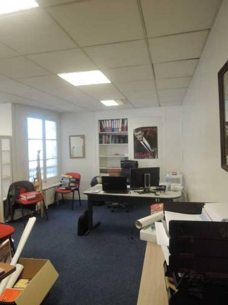 Location vente bureaux paris 75009 38m2 for Location bureau atypique paris