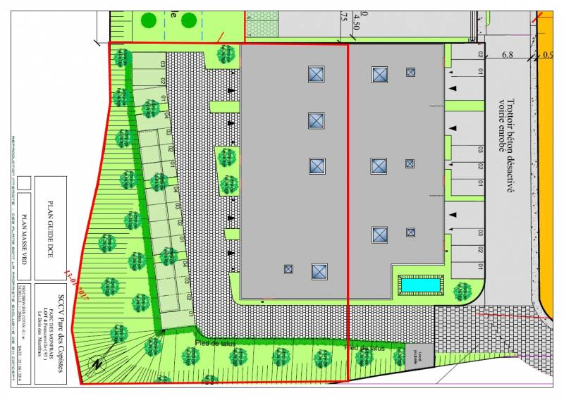 Bâtiment indépendant NEUF - Parc des Montfrais - Photo 1
