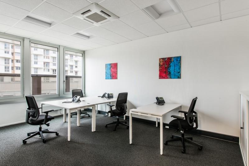 Plateaux de bureaux équipés de 100 m² à Rennes