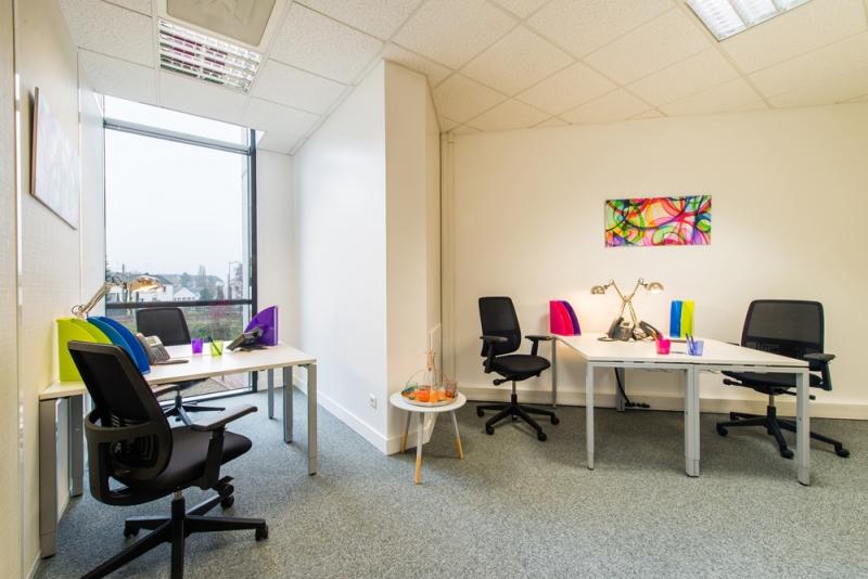 Plateaux de bureaux équipés Orleans, Coligny