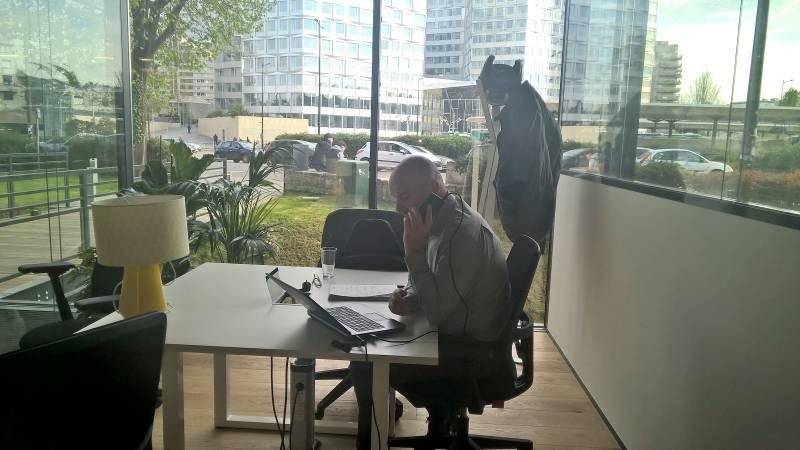 Bureau privé équipé de 10 m² à Paris, Spaces Boulogne-Billancourt