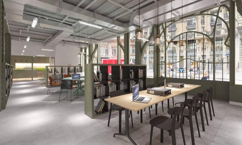 location centres d 39 affaires coworking paris 75002 10m2. Black Bedroom Furniture Sets. Home Design Ideas