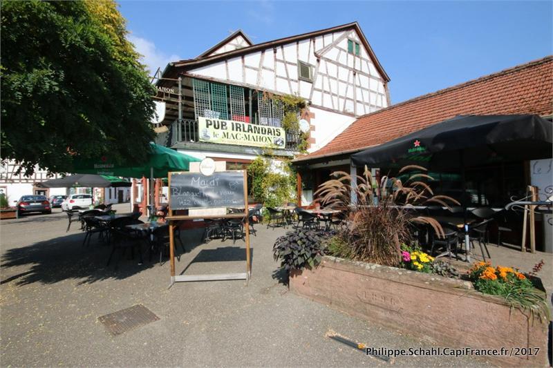 Dpt Bas-Rhin (67), à vendre proche de Niederbronn les Bains -  Murs commerciaux  Brasserie 146 m2 + Logement T2 - 45 m2 - Photo 1