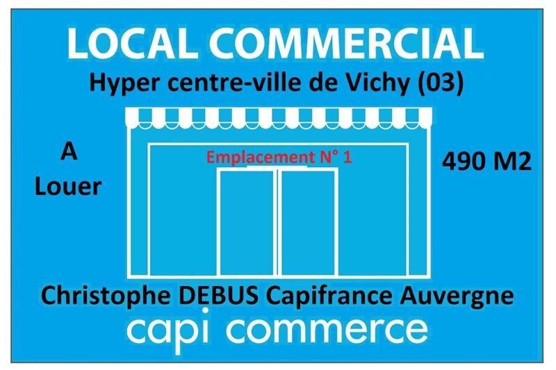 Bail à céder, Local commercial hyper centre-ville de Vichy - Photo 1