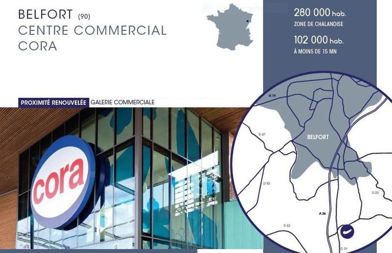 Location Commerces Danjoutin 90400 413m² Bureauxlocauxcom