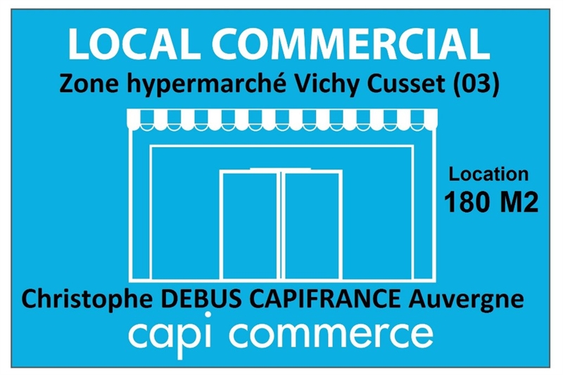 Local commercial 180 M2 proche de Vichy sur une zone commerciale d'hypermarché 03 - Photo 1