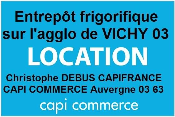 Dpt Allier (03), à louer proche de VICHY Local industriel - Photo 1