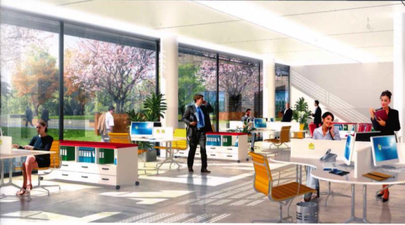 location bureaux toulouse 31400 195m2. Black Bedroom Furniture Sets. Home Design Ideas