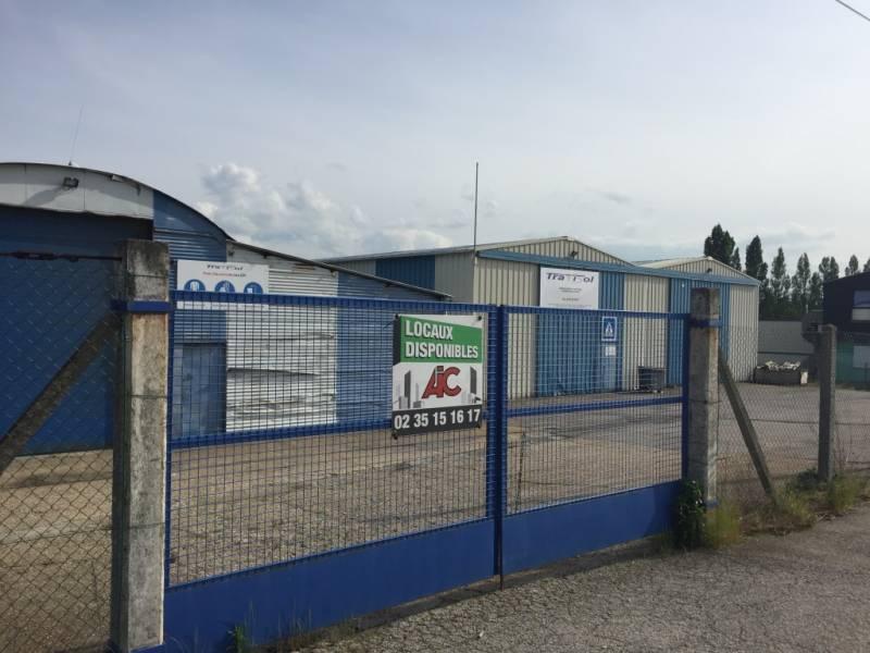 ENTREPOT 1240m2 Seine maritime 76 Le Havre agllomération Lillebonne - Gravenchon - Tancarville 17482 NOTRE DAME DE GRAVENCHON 76330