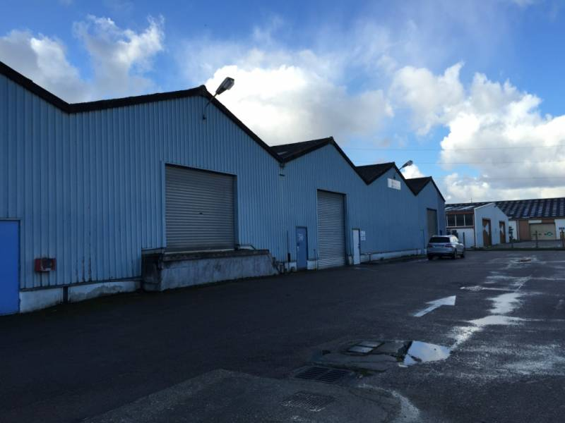 ENTREPOT 3360m2 Seine maritime 76 Le Havre agllomération Le Havre Zone Industrielle Le Havre Zone Portuaire 17450 SANDOUVILLE 76430