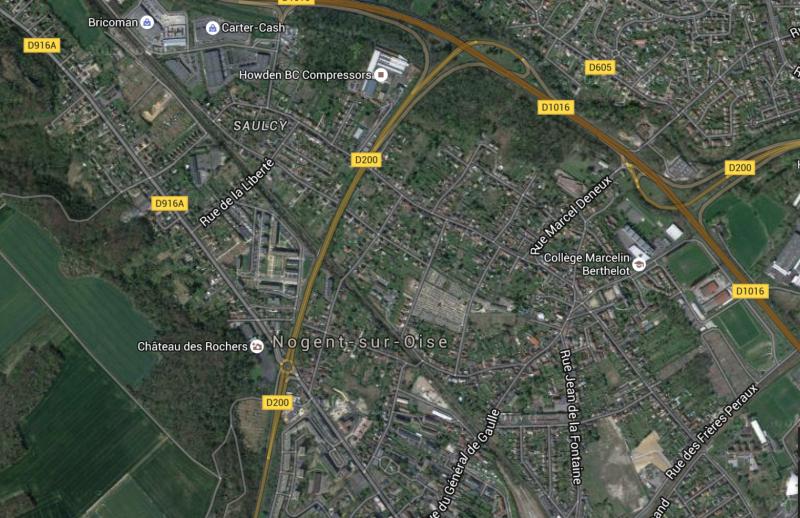 LOCAL COMMERCIAL 400m2 Oise 60 17241 NOGENT SUR OISE 60180