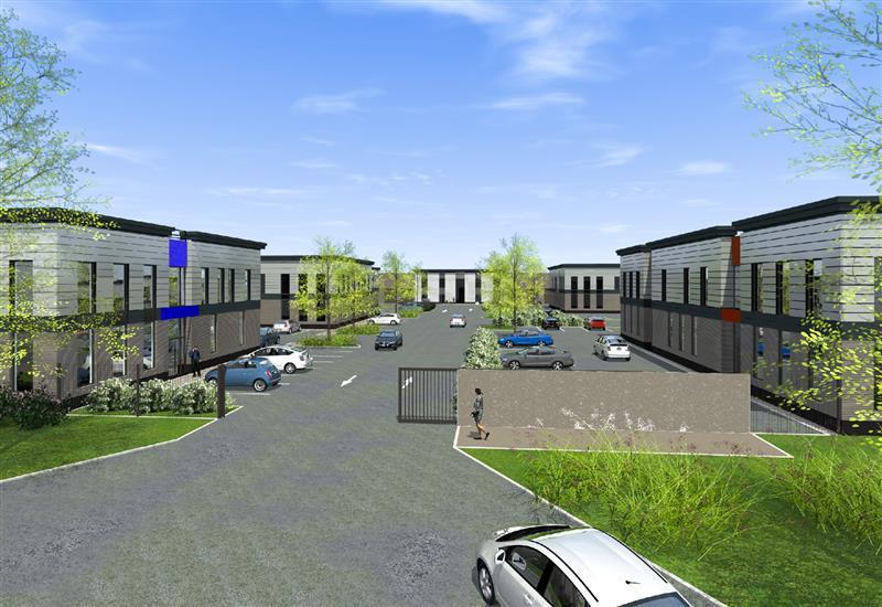VILLAS D'ENTREPRISES - VAL D'EUROPE - Bâtiments indépendants à vendre - Photo 1