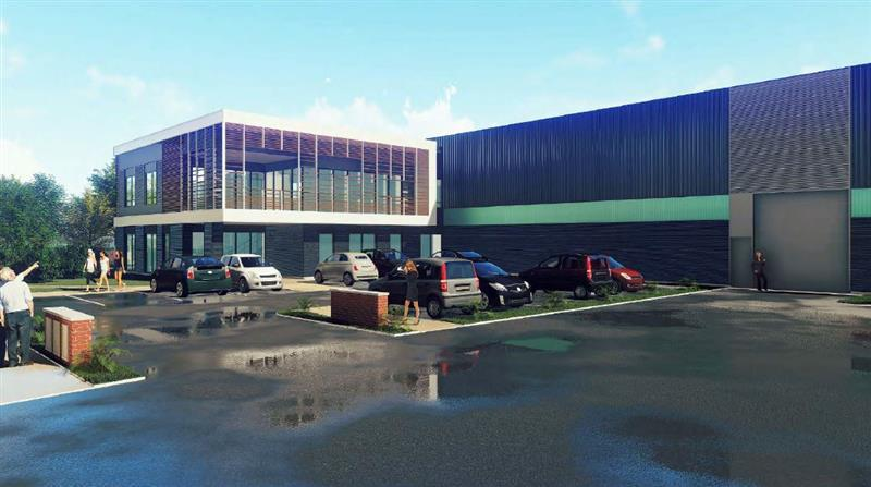 Bâtiments industriels neufs indépendants à vendre sur la ZAC de LAMIRAULT - Photo 1