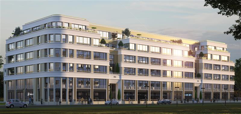 Immeuble JAZZ - Bureaux neufs à vendre ou à louer dans le centre urbain du Val d'Europe - Photo 1