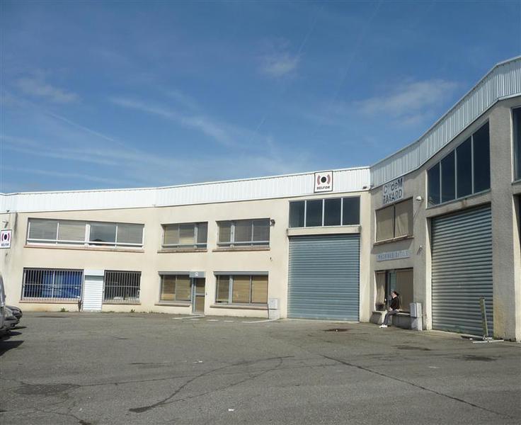Local d'activités et bureaux 253m² jusqu'à 613m² à la location Toulouse Sud Zone Thibaud - Photo 1