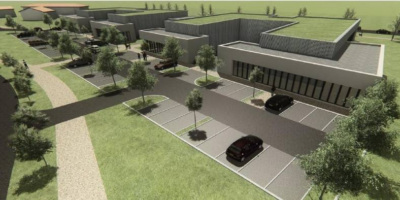 location bureaux bourg en bresse 01000 100m2. Black Bedroom Furniture Sets. Home Design Ideas