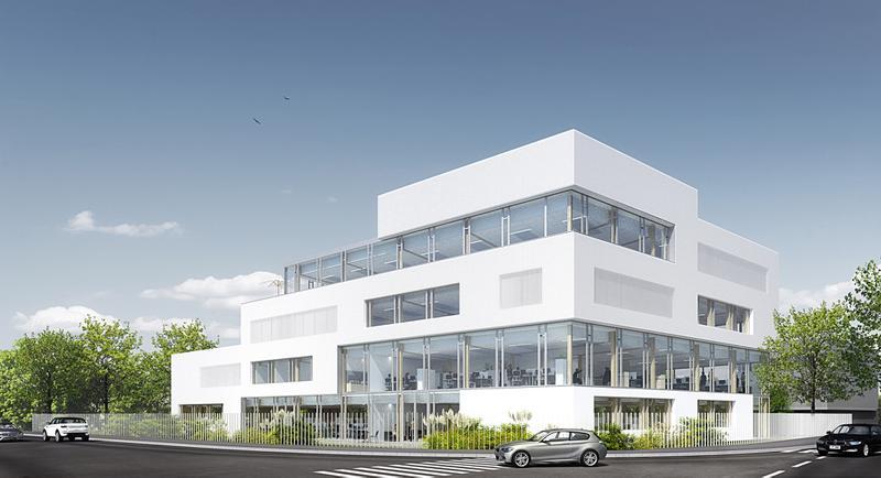 Green Corner, immeuble de bureaux neufs - Photo 1
