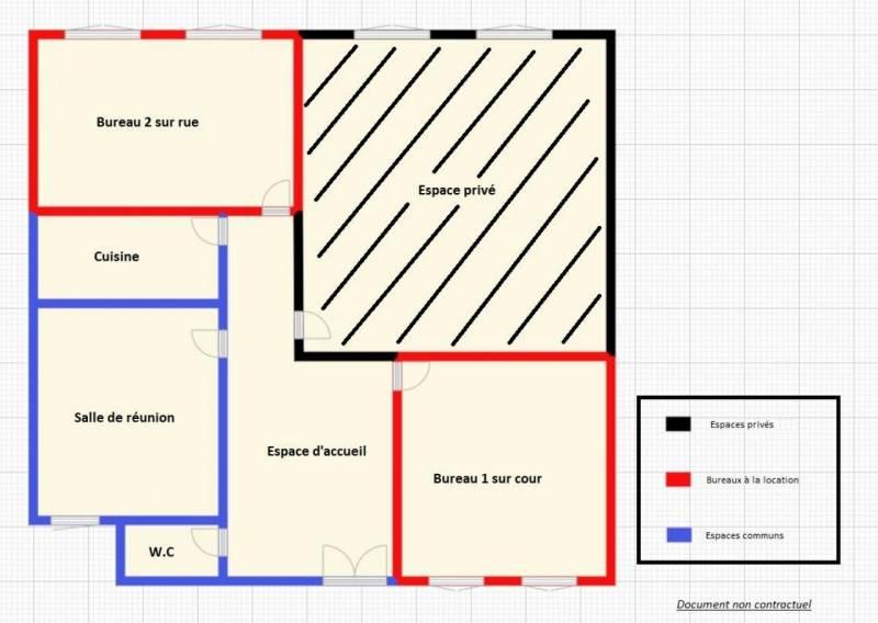 location bureaux paris 75010 11m2. Black Bedroom Furniture Sets. Home Design Ideas