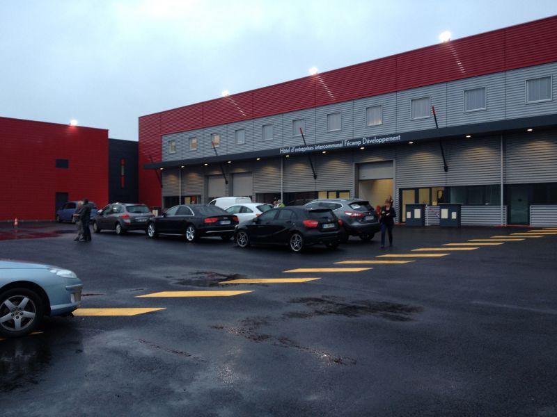 Atelier neuf à Fécamp entre Le Havre et Paluel 300 m²