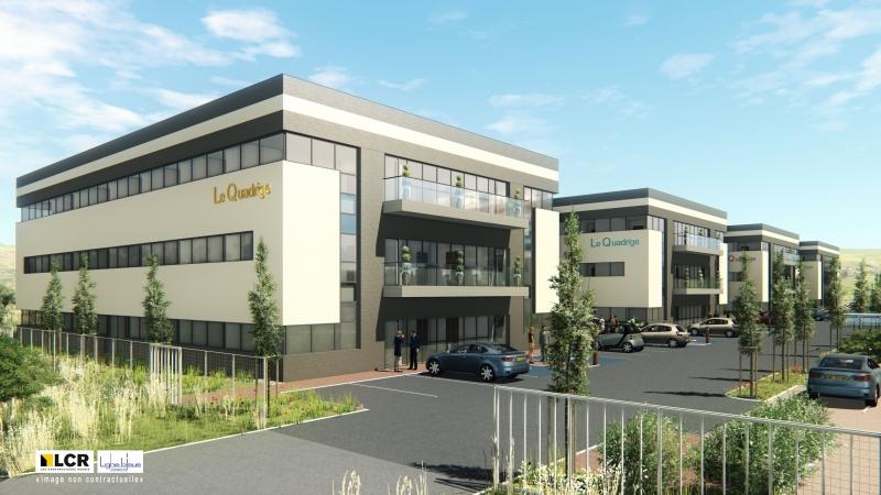 LE QUADRIGE - groupe de 4 immeubles de bureaux, nouvelles normes, certifiés BREEAM, à construire à Valence (26)