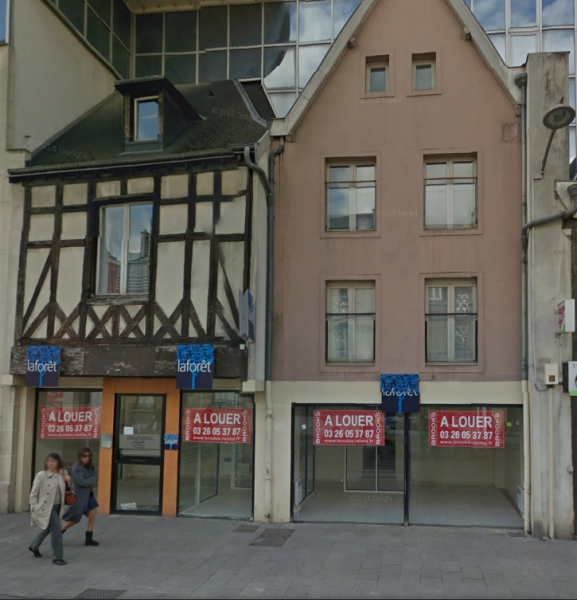 REIMS Rue de Vesle - Local commercial de 126 m²