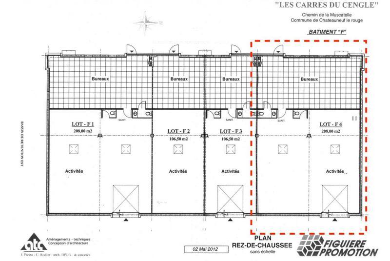 Location Locaux D Activites Rousset 13790 204m
