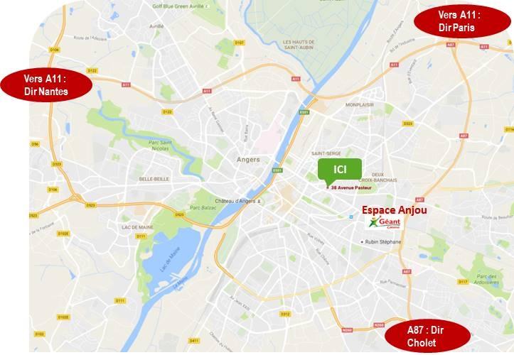 À LOUER Local  commercial 72 m² - Angers (49 000)