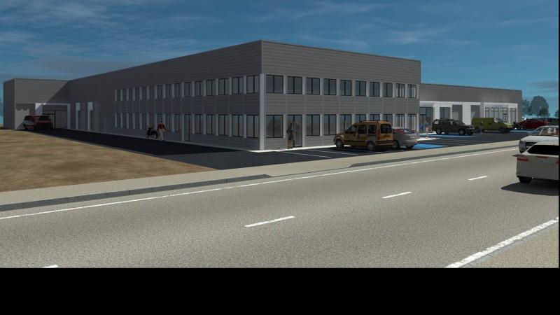 À LOUER lot de 840 m² ateliers et bureaux - étage - entièrement refaits à neuf -  dans un bâtiment indépendant - St Barthélémy d'Anjou (49 124), Actiparc des Bretonnières