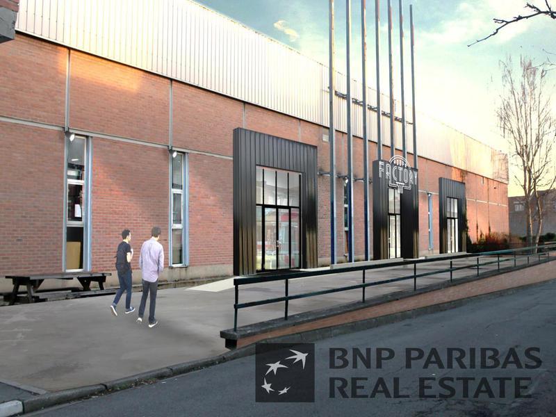 Location locaux d 39 activit s mons en baroeul 59370 500m for Location garage mons en baroeul