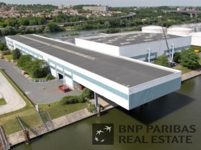Location locaux d 39 activit s gennevilliers 92230 4 400m - 6 route du bassin n 1 port de gennevilliers ...