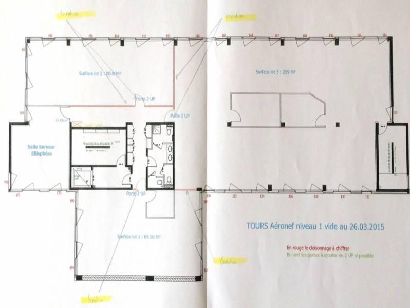 location bureaux tours 37100 175m2. Black Bedroom Furniture Sets. Home Design Ideas