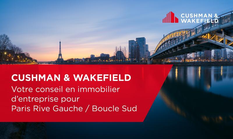 CUSHMAN & WAKEFIELD PARIS RIVE GAUCHE / 1E COURONNE SUD - Photo 1