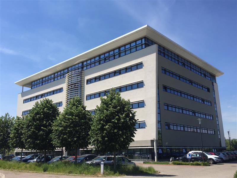 Immeuble moderne bureaux d library batiments architecture