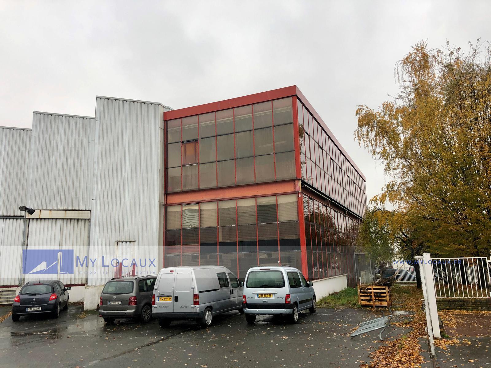 Plateforme Du Batiment Gennevilliers vente entrepôt argenteuil 95100 2 442m² – bureauxlocaux
