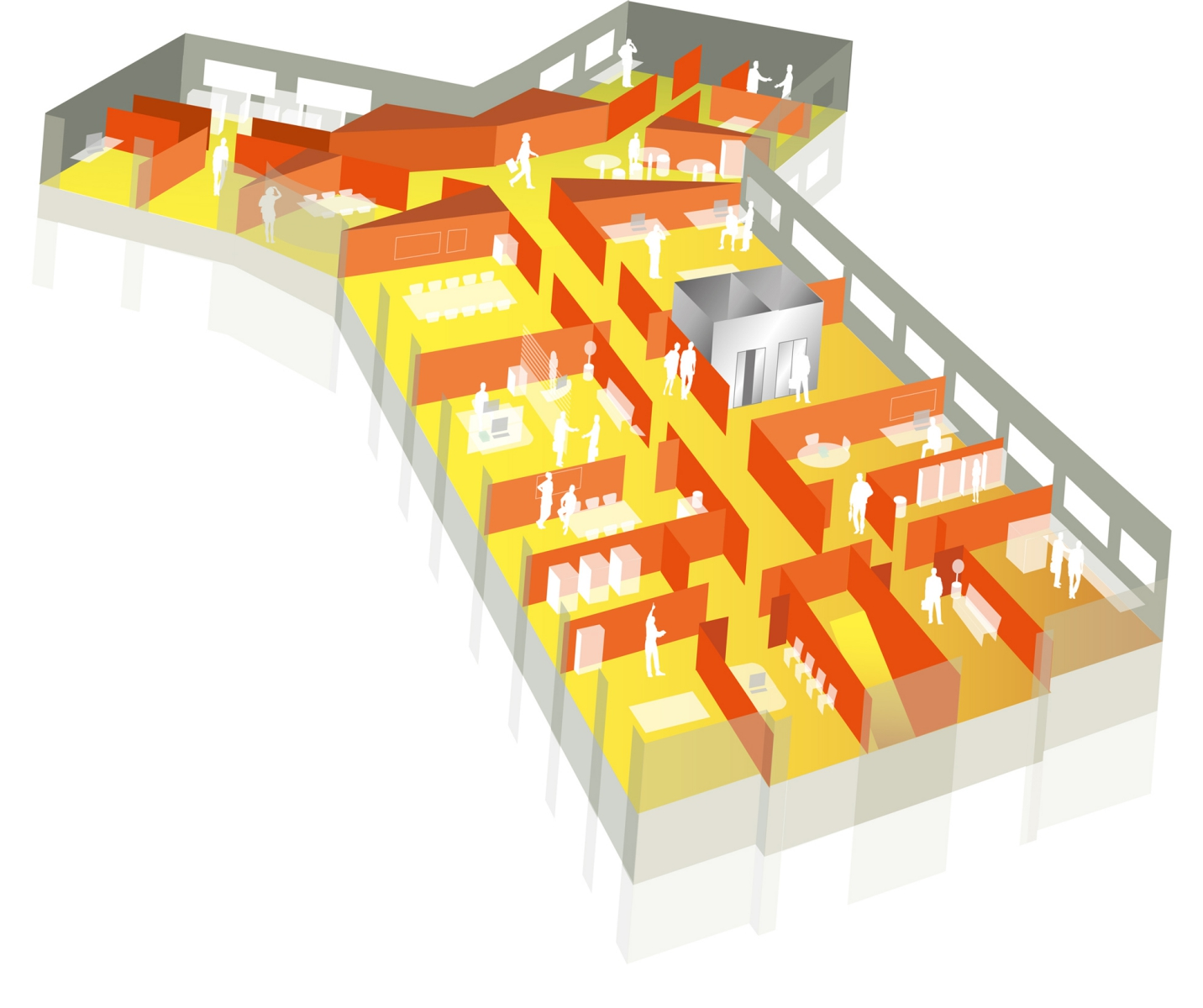 location bureaux saint herblain 44800 36m2. Black Bedroom Furniture Sets. Home Design Ideas