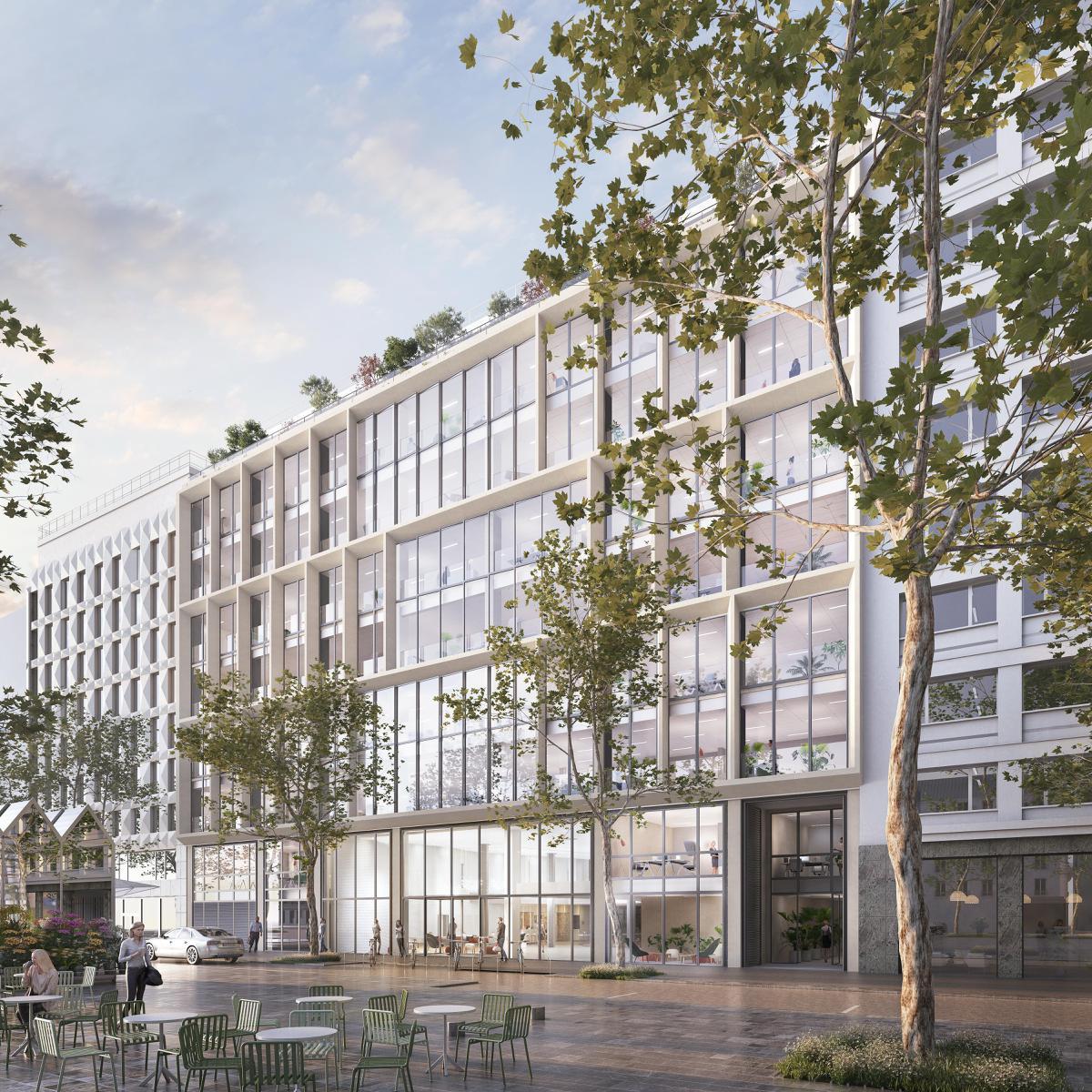 Paris Materiaux Villeneuve La Garenne location bureau neuilly-sur-seine 92200 14 655m²