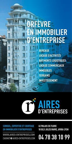 Publicité de la part de Aires d'entreprises lyon